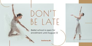 Ballet Classes Promotion Ballerina Dancing | Blog Header