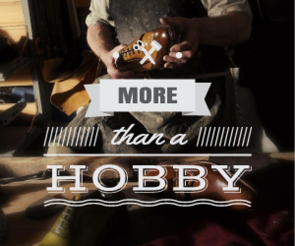 shoes maker workshop poster — ein Design erstellen