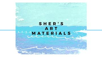Sher's Art materials shop
