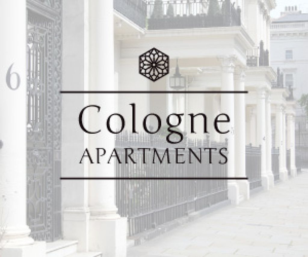 Cologne apartments advertisement — Créer un visuel