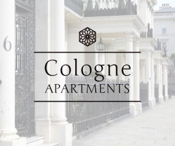 Cologne apartments advertisement