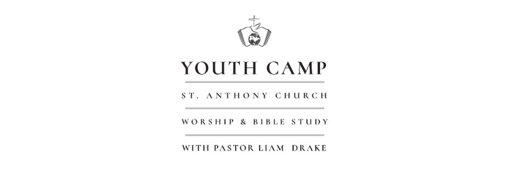 Youth religion camp of St. Anthony Church — Crear un diseño