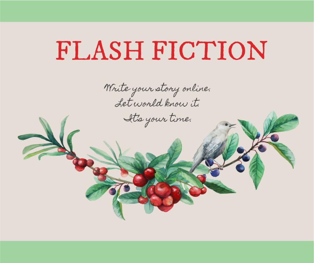 Flash Fiction Inspiration Banner Create A Design
