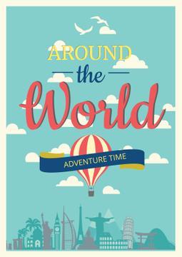 Around the world adventure