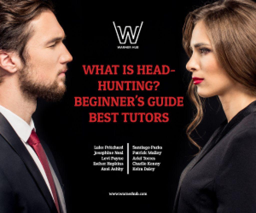 Headhunting guide event announcement — ein Design erstellen