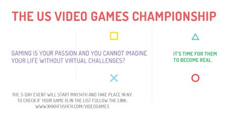 Video games Championship  Image Modelo de Design