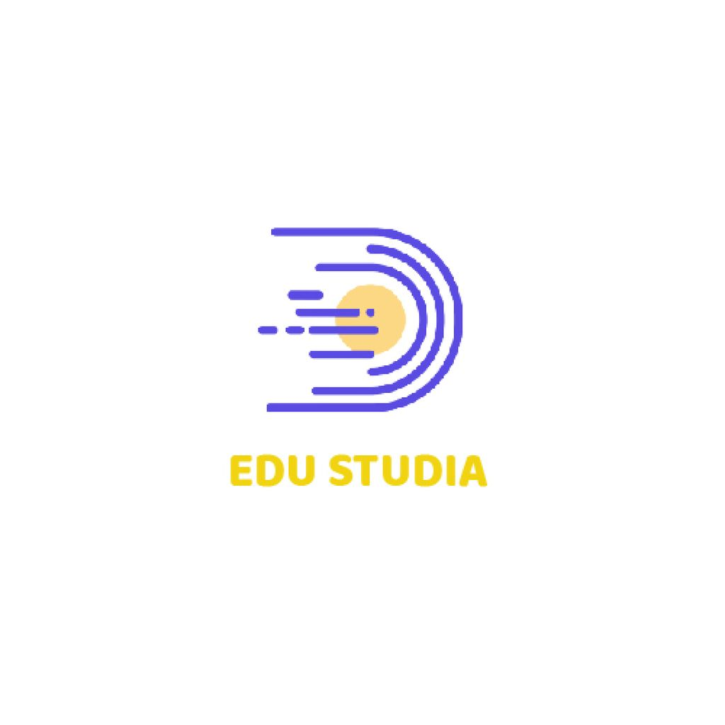 Education Studio with Planet in Space — Crea un design