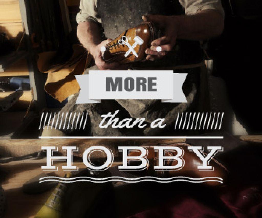 shoes maker workshop poster - Bir Tasarım Oluşturun