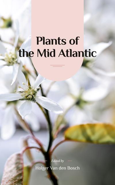 Tender Spring Flowers in White Book Cover – шаблон для дизайну
