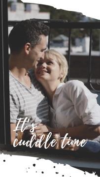 Happy Loving Couple hugging