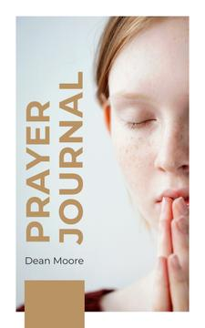 Young Woman Praying | eBook Template