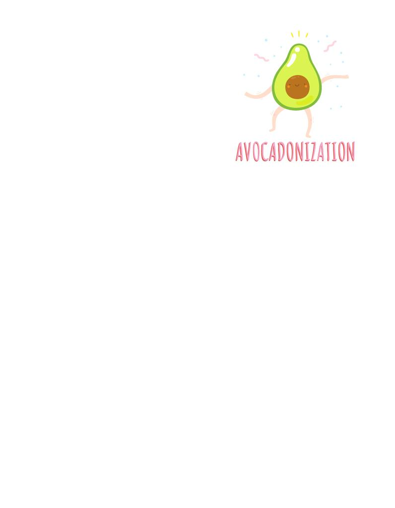 Funny Dancing Avocado — Створити дизайн