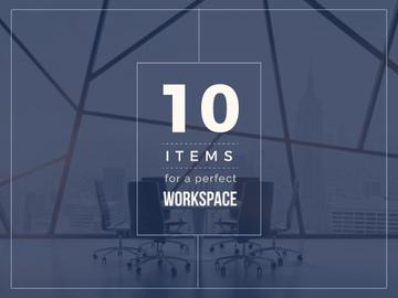 Items for a perfect Workspace