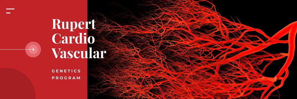 Blood vessels model — Crea un design