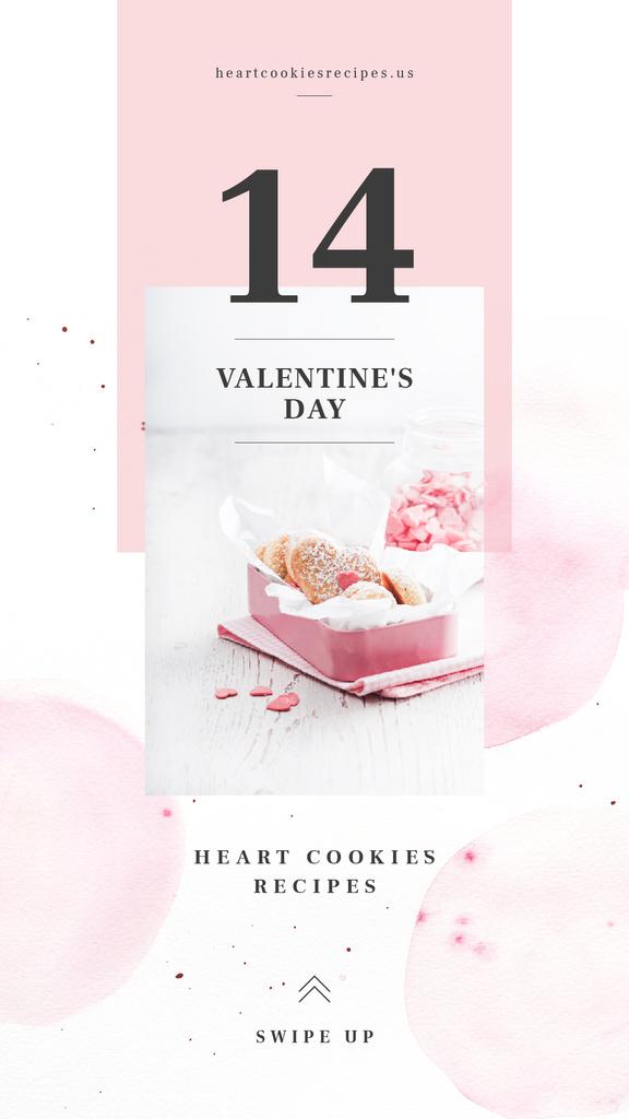 Heart shaped cookies — ein Design erstellen