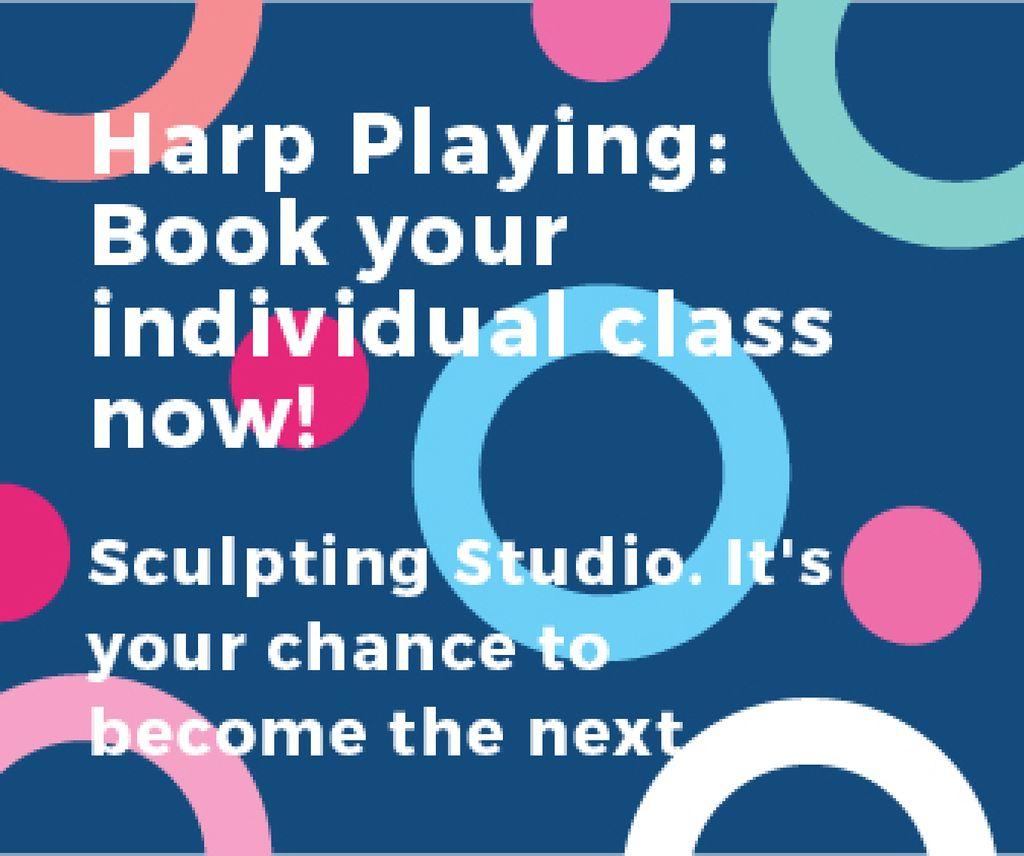 Sculpting studio poster — Создать дизайн