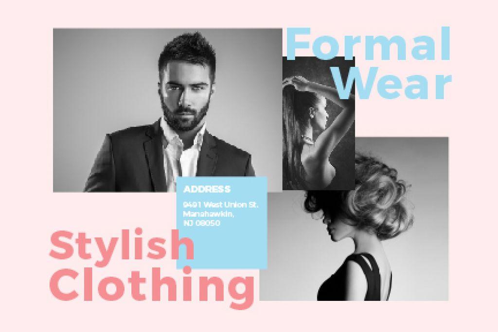Formal wear store — Crear un diseño