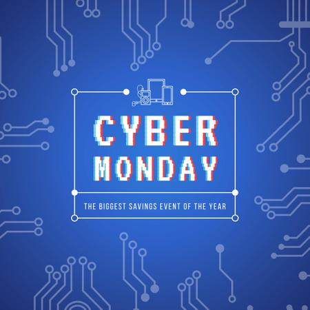 Template di design Cyber monday sale Ad Instagram