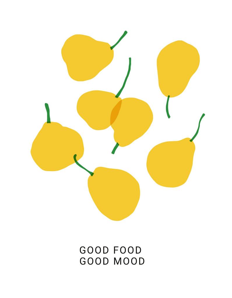 Falling Yellow Pears — Crear un diseño