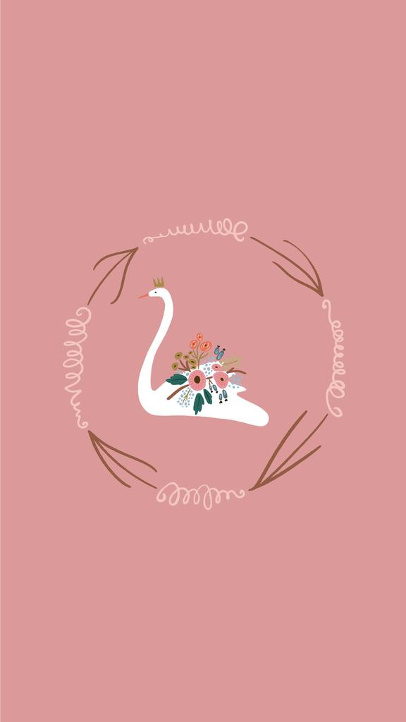 Wedding Day attributes and decor in pink — Modelo de projeto
