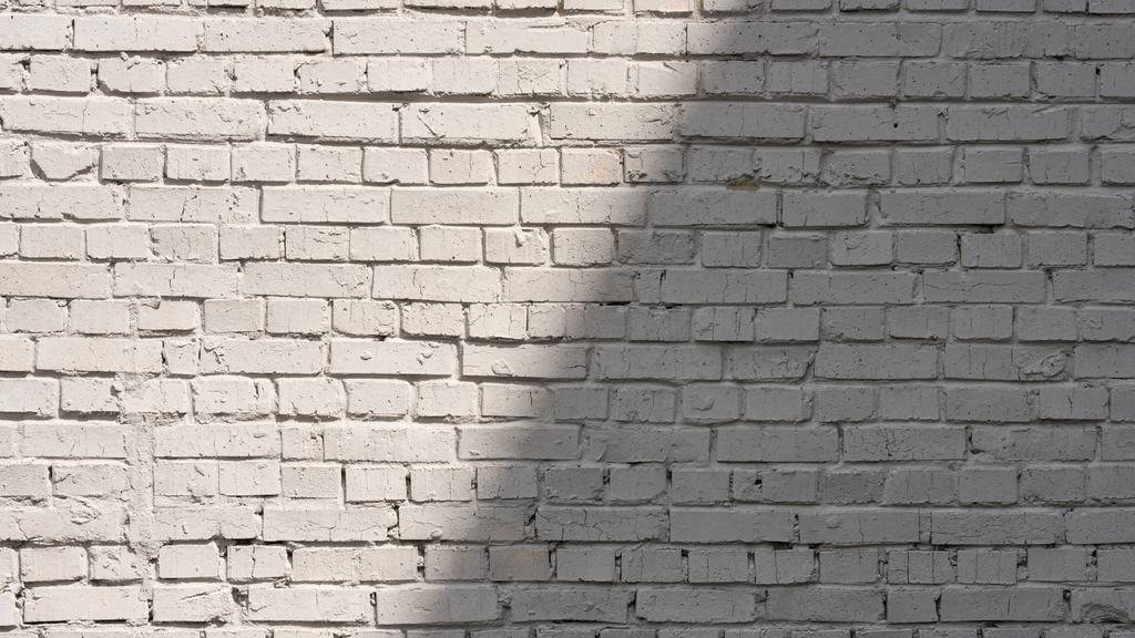 White brick wall with Shadow — Maak een ontwerp