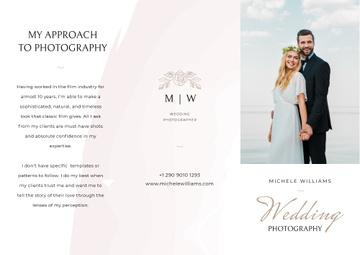 Wedding Photographer services