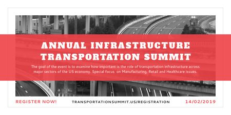 Annual infrastructure transportation summit Imageデザインテンプレート