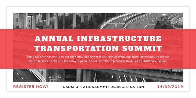 Szablon projektu Annual infrastructure transportation summit Image