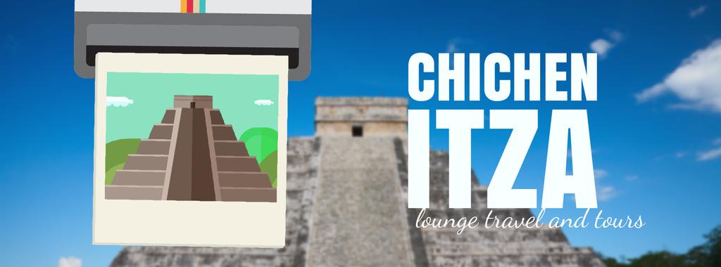Chichen Itza famous sights — ein Design erstellen
