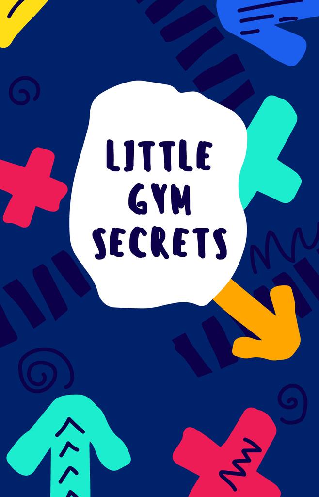 Gym Workout guide on colorful pattern — Crear un diseño
