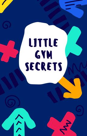 Modèle de visuel Gym Workout guide on colorful pattern - IGTV Cover