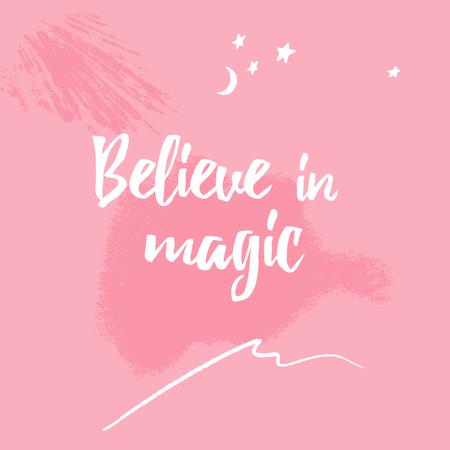 Plantilla de diseño de Inspirational Quote on pink painting Instagram