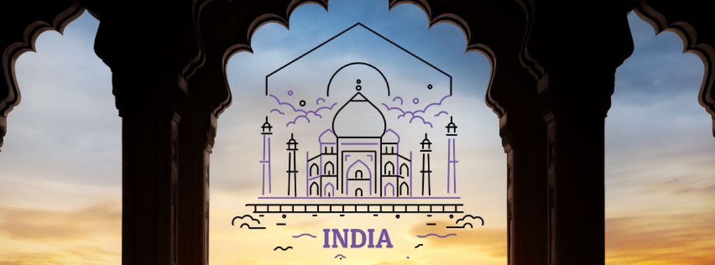 India famous travelling spots — Create a Design