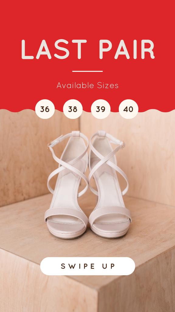 Female Fashionable Shoes in Pink — Maak een ontwerp