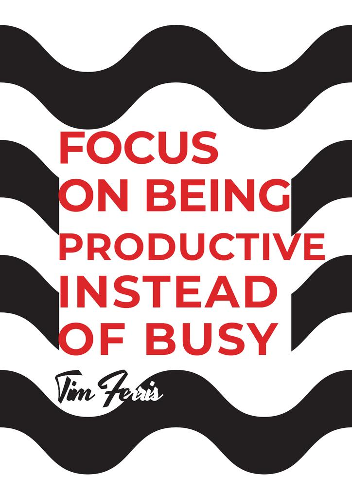 Citation about productivity for everyone — Modelo de projeto