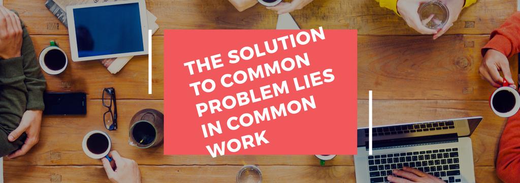 Citation about the solution to common problem — ein Design erstellen