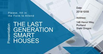 Invitation to smart houses Presentation