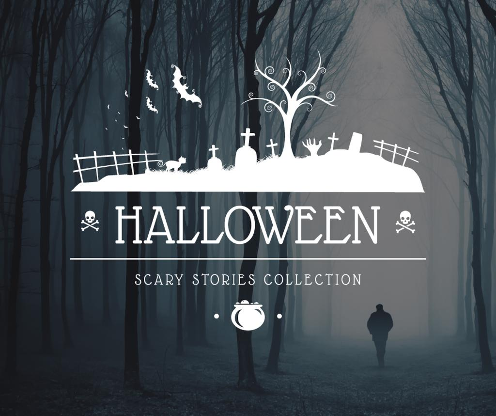 Halloween scary stories collection poster — Create a Design
