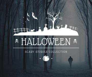 Halloween scary stories collection poster