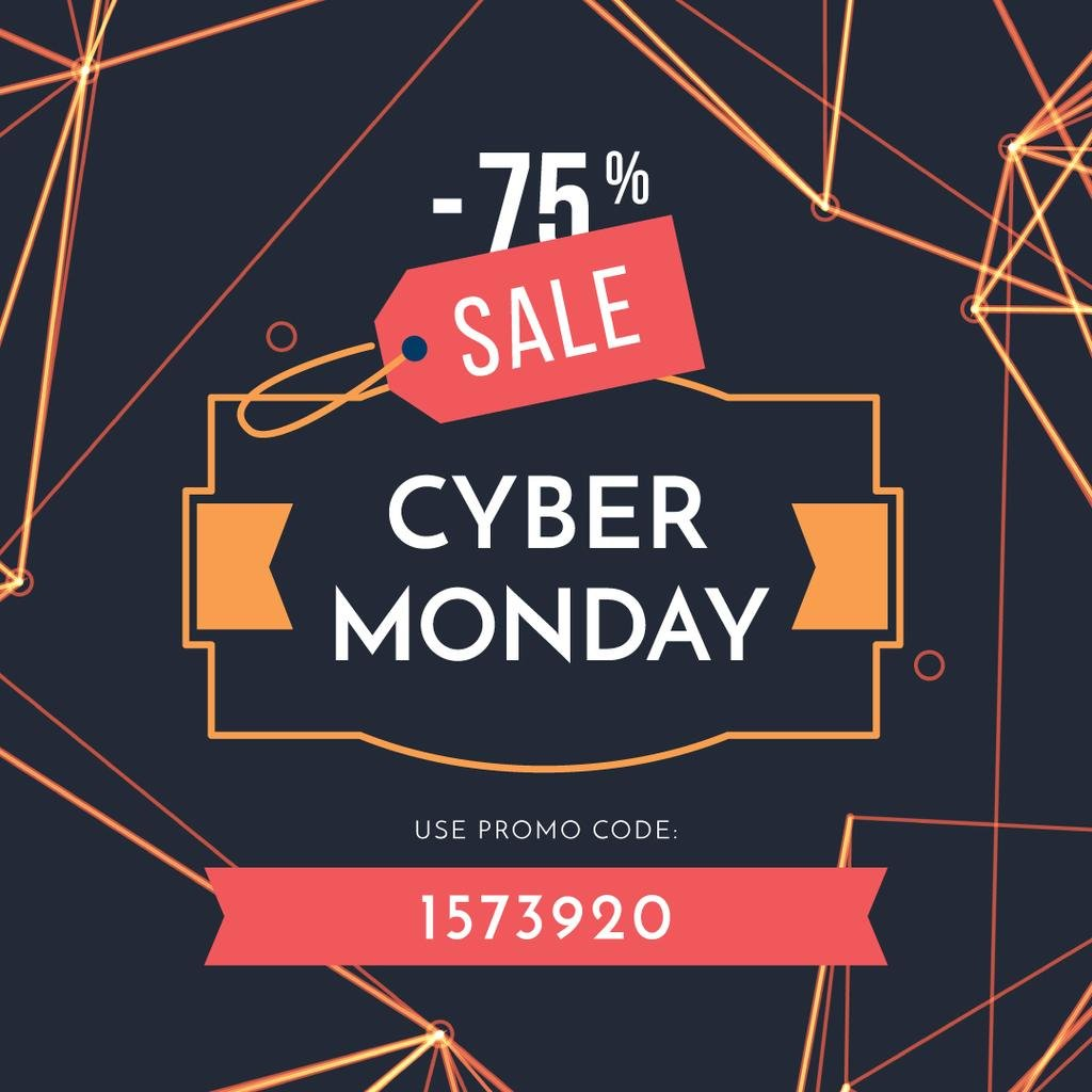 Cyber monday sale poster — Create a Design