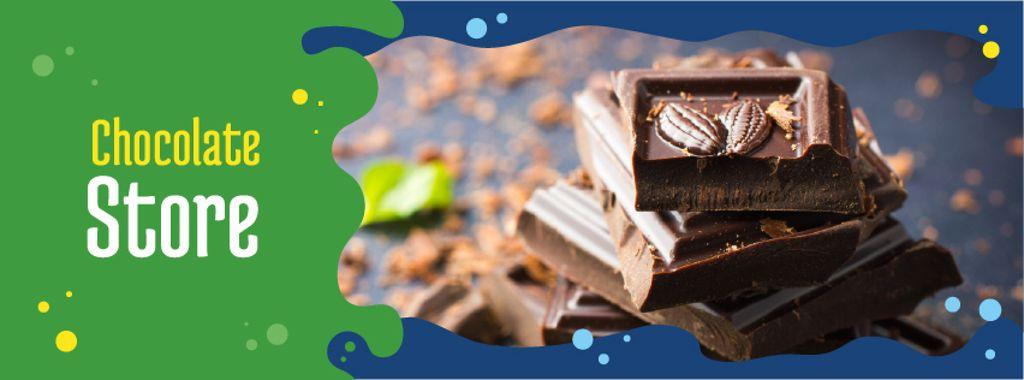 Chocolate Pieces with Mint — Crear un diseño