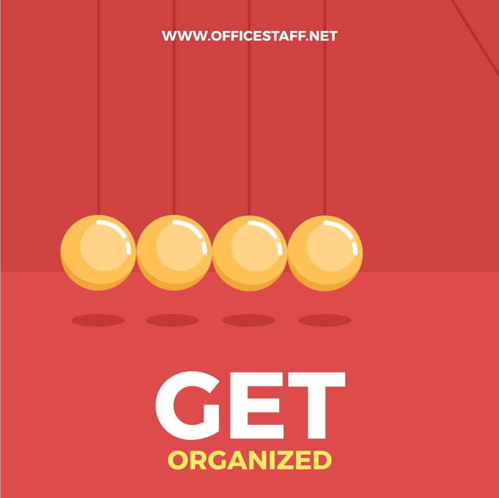 Business Motivation with Swinging Magnetic Ball Cradle — Crea un design