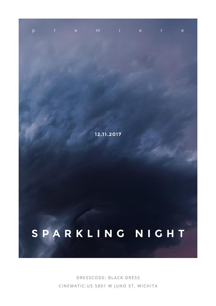 Sparkling night event — Maak een ontwerp
