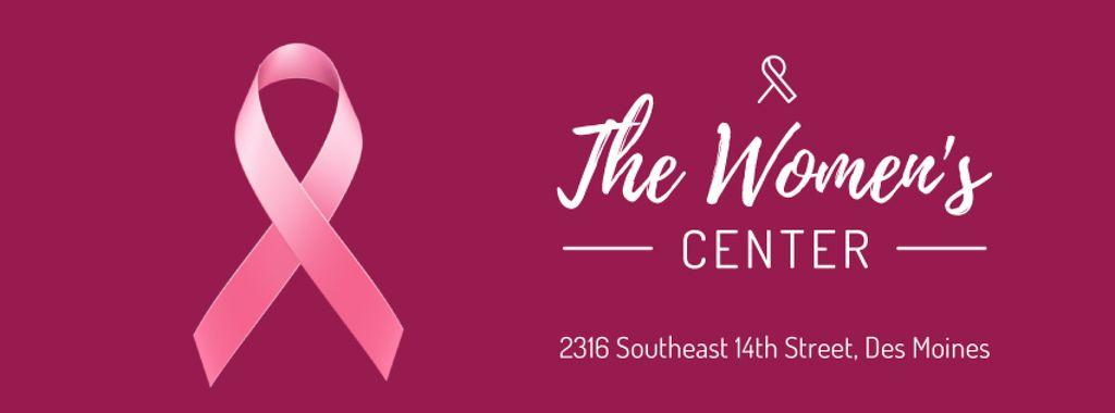 Pink ribbon symbol — Crear un diseño
