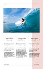 Surfer Riding Big Wave in Blue