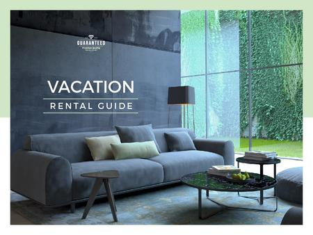 Plantilla de diseño de Vacation rental guide Presentation