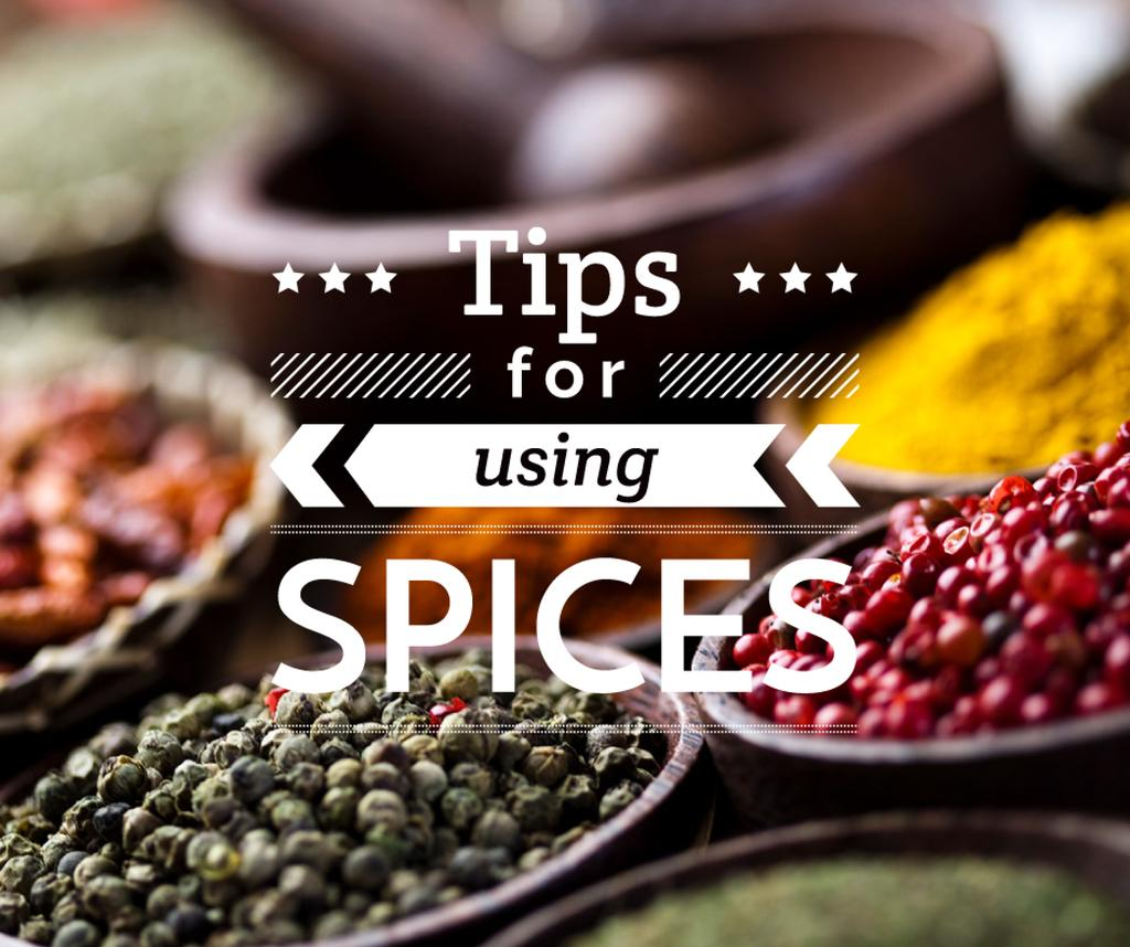 Tips for using Spices with peppers — Modelo de projeto