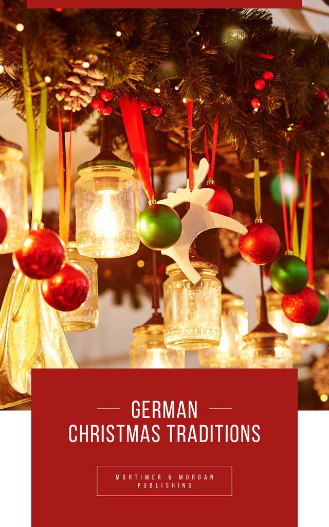 Traditional Shiny Christmas Decorations - Bir Tasarım Oluşturun