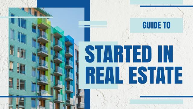 Szablon projektu Real Estate Ad Modern House Facade Youtube Thumbnail