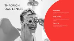 Ophthalmology Clinic Services ad